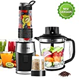 Mixer Smoothie Maker, FOCHEA Standmixer, 700 Watt...