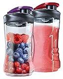 AEG ASBEB2 Flaschen für Minimixer im Doppelpack...